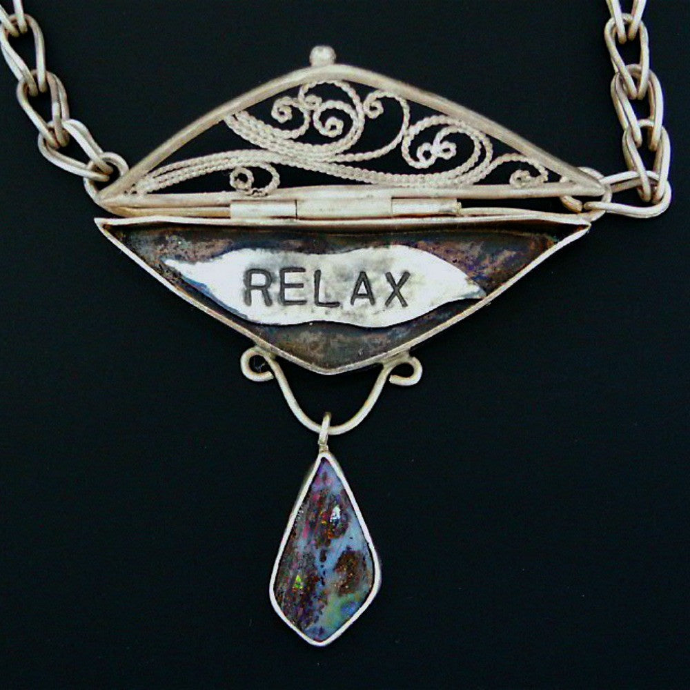Relax Locket - lisa winn designs
