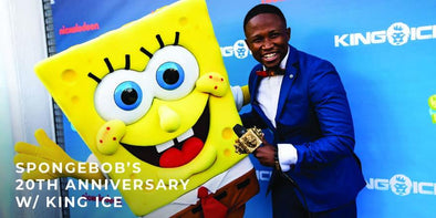 How King Ice Celebrated SpongeBob's 20th Anniversary