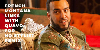 "French Montana Drops Remix to ""No Stylist"""