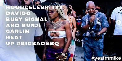 Hood Celebrity, Davido, Busy Signal & Bunji Garlin Lit Up #BigBadBBQ in Brooklyn