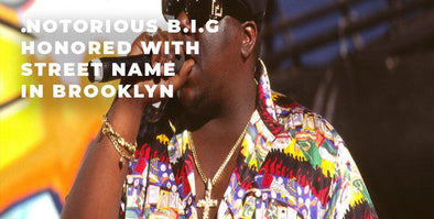 The Legendary Notorious B.I.G. Honored With Street Naming Ceremony in Brooklyn