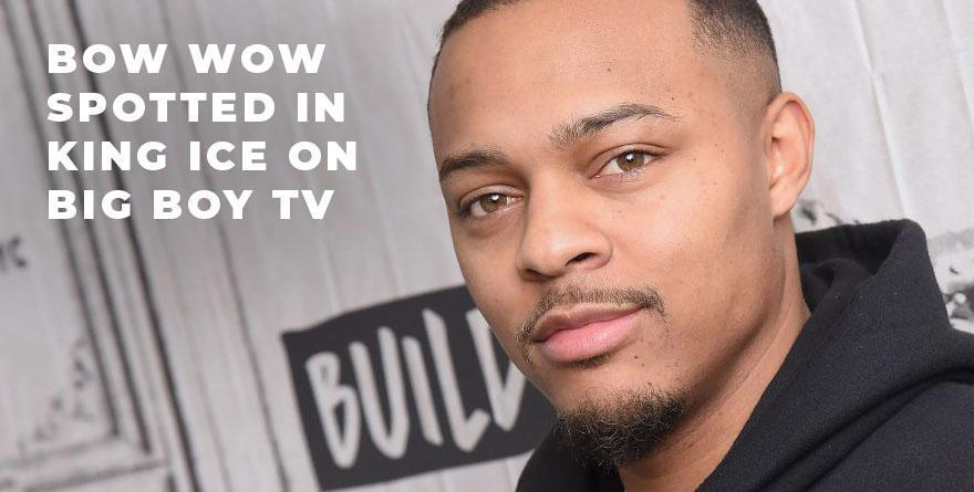 26062188504 Bow Wow Spotted in King Ice's Death Row Chain on Big Boy TV – KingIce