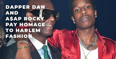 Dapper Dan & A$AP Rocky Pay Homage to Harlem Fashion