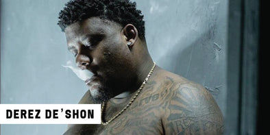 Derez De'Shon Rocks His Jurassic Park Chain Proudly
