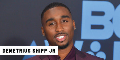 Tupac Actor Demetrius Shipp Jr. Prefers Vintage Pieces