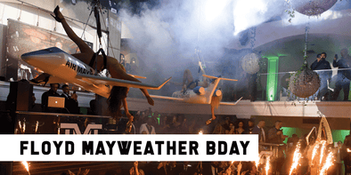 Floyd Mayweather's Epic 43rd Birthday Party🤑