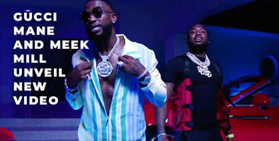"Gucci Mane & Meek Mill Pull Out The Big Chains For  ""Backwards"" Video"