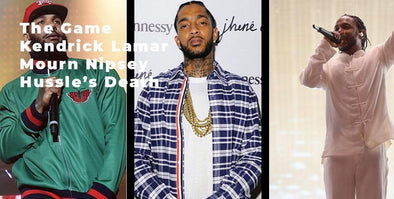 The Game & Kendrick Lamar Mourn Nipsey Hussle's Death