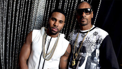 Jason Derulo and Snoop Dogg at Dick Clark's New Years Rockin Eve