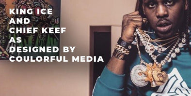 King Ice x Chief Keef, a Coulorful Media Collaboration