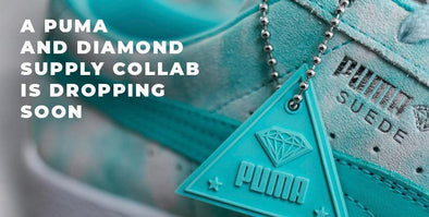 "Diamond Supply & PUMA Collab on ""California Dreaming"" Gear"