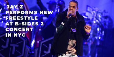 Jay Z Pays Tribute to Nipsey Hussle, Performs New Freestyle at B-Sides 2 Show in NYC!