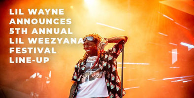 Lil Wayne Announces 5th Annual Lil Weezyana Fest Line-Up!