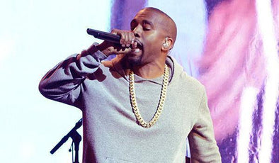 Kanye West performs at World Aids Day concert