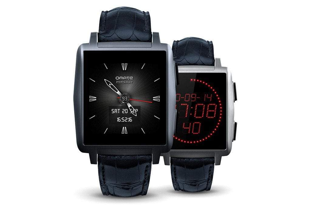 Omate X - A Stylish Smartwatch
