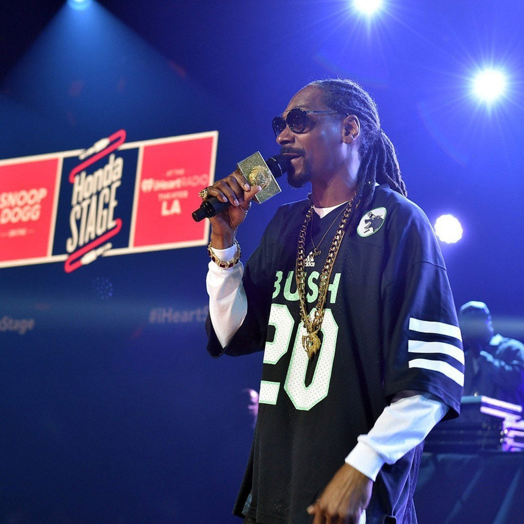 Custom Microphone Flags: Snoop Dogg