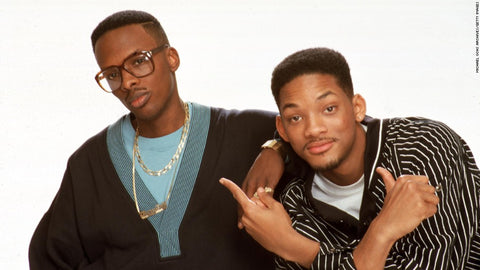 DJ Jazzy Jeff and Will Smith