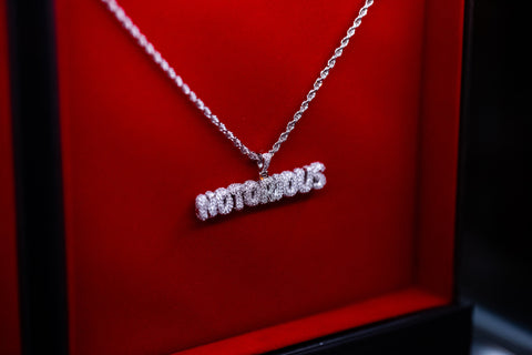 """Notorious"" BIG x King Ice necklace"