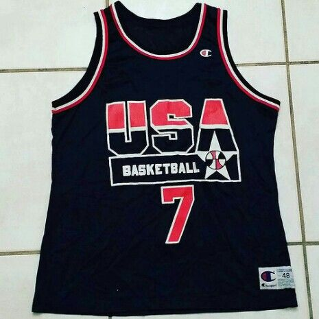 Champion NBA Team USA Jersey