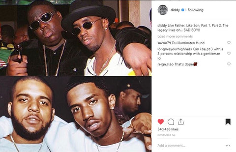 P Diddy, Biggie, King Combs, C.J. Wallace