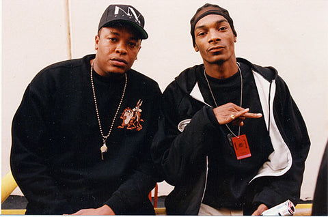 Dr. Dre and Snoop Dogg Circa 1993