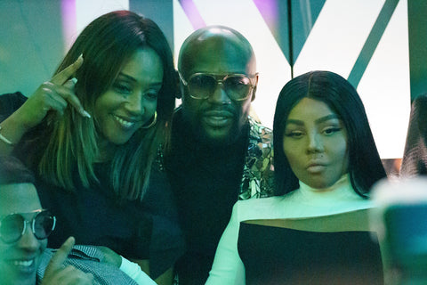 Lil Kim, Tiffany Haddish, and Floyd Mayweather