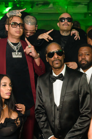 Snoop Dogg at Floyd Mayweather birthday