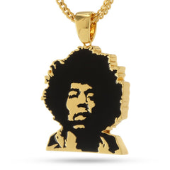 Jimi Hendrix x King Ice Jewelry Collab