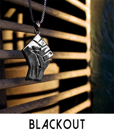Men's Black Pendant Necklaces