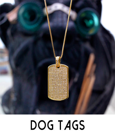 Dog Tag Chain Necklaces
