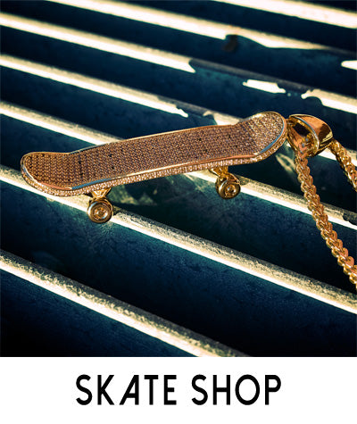 Skateboard Jewelry Pendants