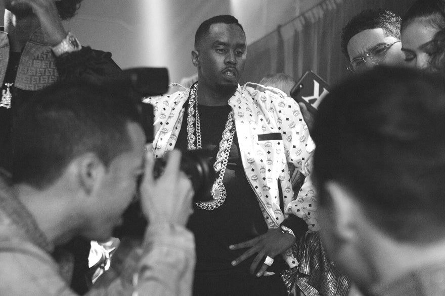 Diddy at Snoop Dogg C Day Birthday Party