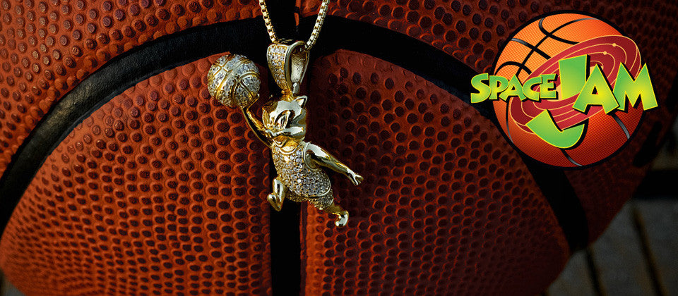 Space Jam x King Ice Jewelry Collection