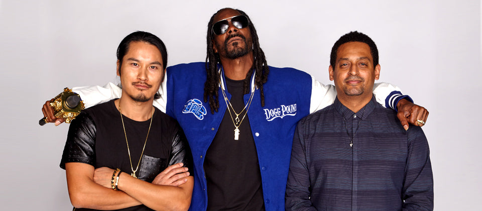 King Ice Owners Derek Belay Cuong Diep and Snoop Dogg