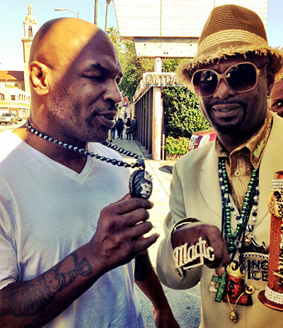 "Mike Tyson & Don ""Magic"" Juan reppin' King Ice."