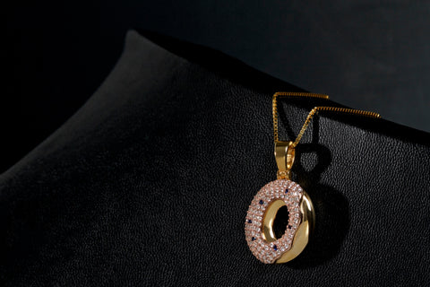VVS Diamond Odd Future Donut Pendant by King Ice