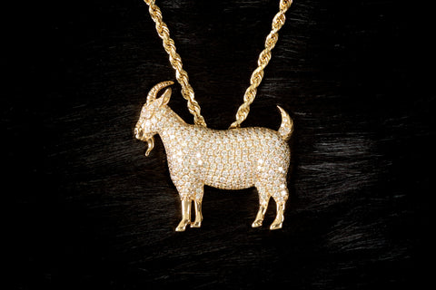 VVS Diamond GOAT Pendant by King Ice