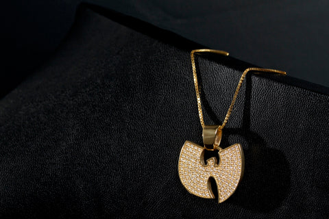 VVS Diamond Wu-Tang Logo Pendant by King Ice