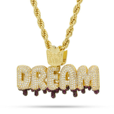 "Iced Out ""DREAM"" Pendant"