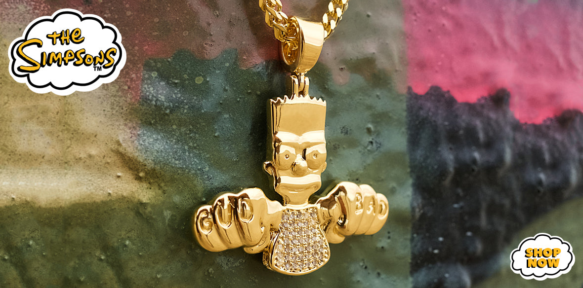 Official Simpsons Jewelry from King Ice