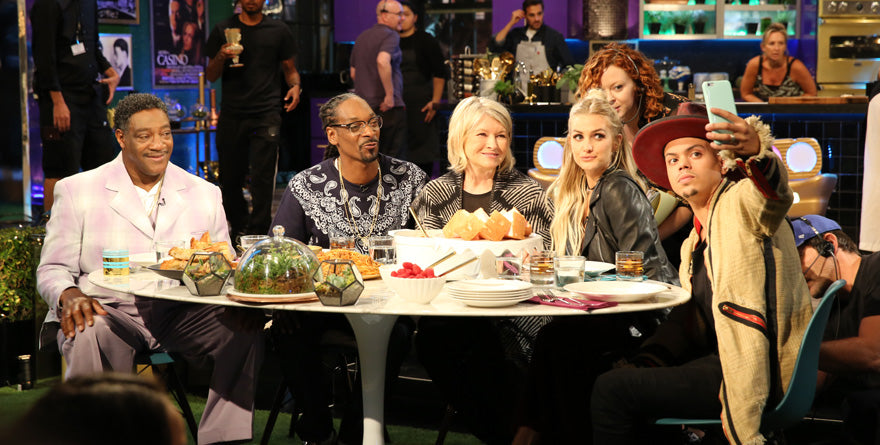 Snoop and Martha's Potluck Party with special guests Ashlee Simpson and Evan Ross