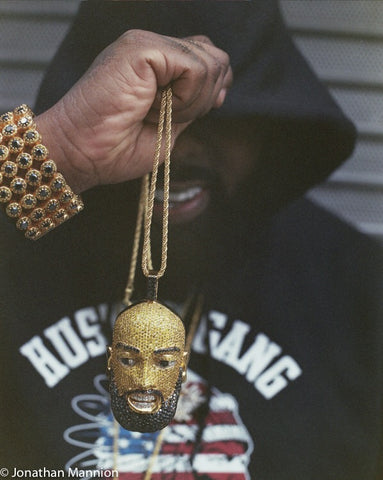 Trae The Truth Face Chain