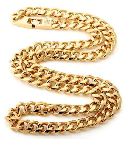 Gold MIami Cuban Curb Chain
