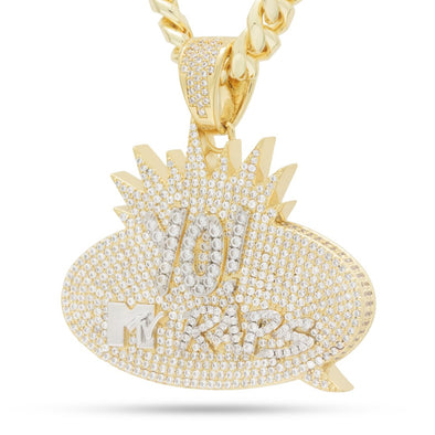 14K Gold / M MTV x King Ice - Yo! MTV Raps Necklace NKX14324