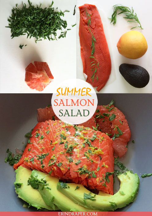 SUMMER SALMON SALAD RECIPE