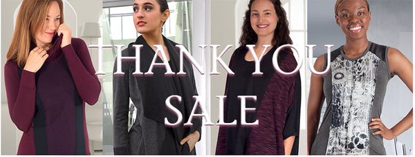 Thank You Sale! Site Wide Sale Nov. 20-26.