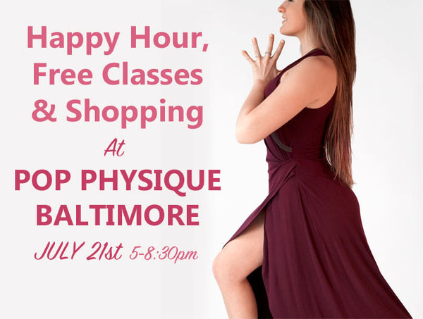 Pop Physique Baltimore is now carrying Erin Draper clothing, designed for active women and as comfortable as yoga wear