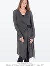 LESLIE - Softly sculpted cardigan (Navy Blue)