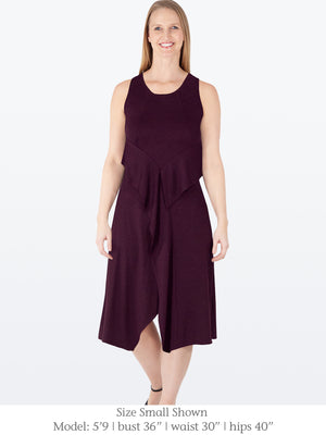 CHARLIE - Eco-Friendly Sleeveless Dress