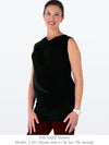 ELLA –Sleeveless Non-Maternity / Maternity Top (Black)